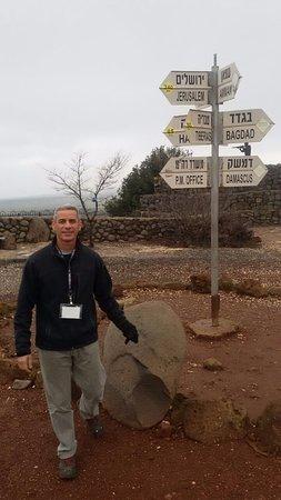 Volcanic mountain. Ben Tal Golan Heights- Abraham Tour