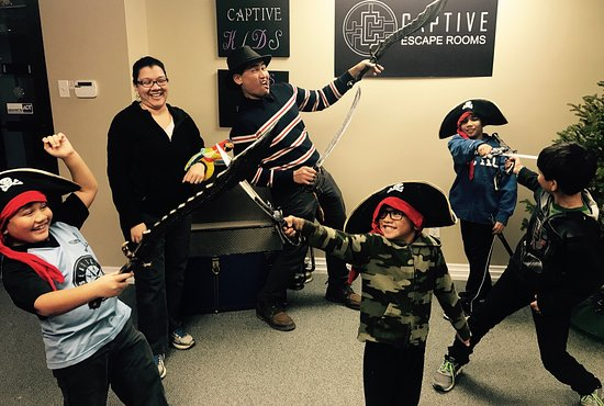 Captive Kids Escape Room