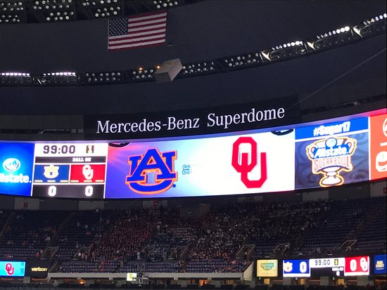 Mercedes Benz Superdome: Oklahoma Vs Auburn
