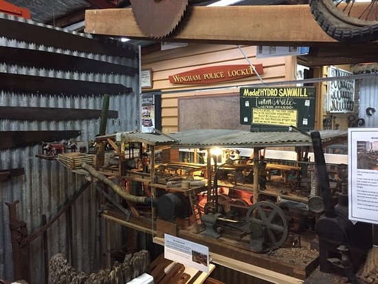 Wonderful Display of the Early Days in the Manning