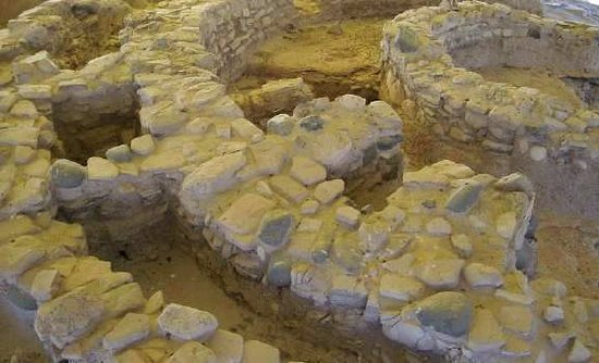 Kalavasos, Cyprus: The neolithic settlement ruins