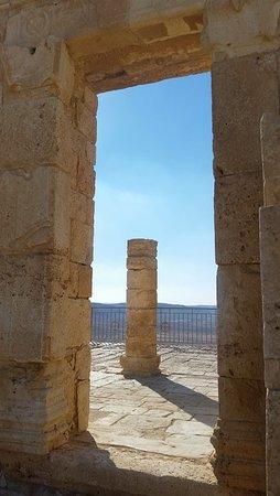 Avdat National Park: Nabatean temple