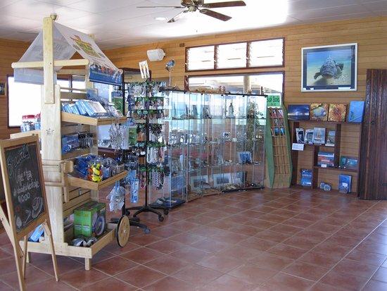 Denham, Australia: Small tourist shop