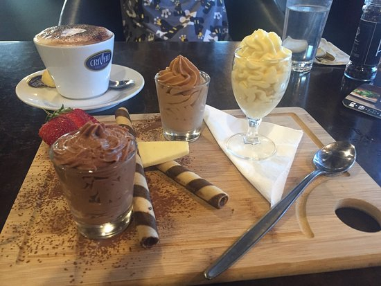 Benalla, Australia: Trio of Mousse
