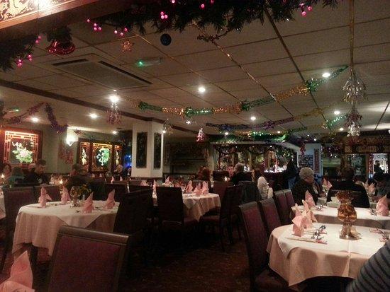 Norley, UK: At Xmas