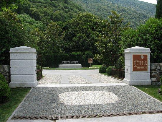 Park Hotel Villa Belvedere: Hoteleinfahrt