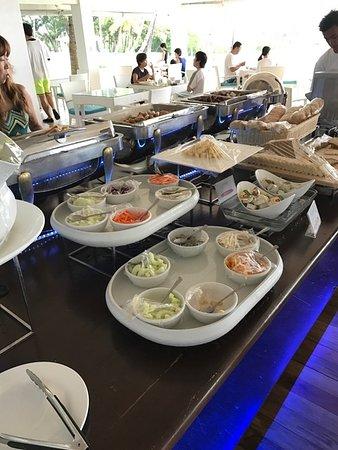 Pacific Cebu Resort: 朝食バイキング