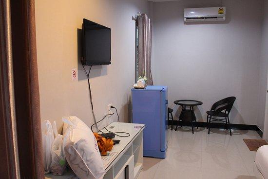 Suwannaphum, Tailândia: มีตู้เย็น ที่วี เคเบิล
