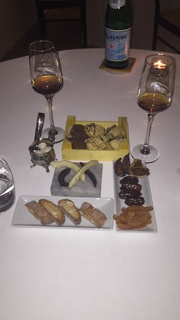 Sclafani Bagni, Italia: Cena