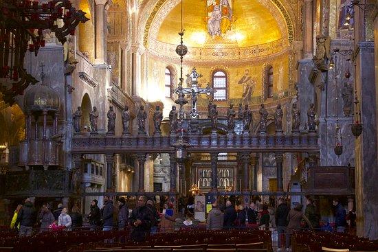 San Marco Interno Picture Of Basilica Di San Marco