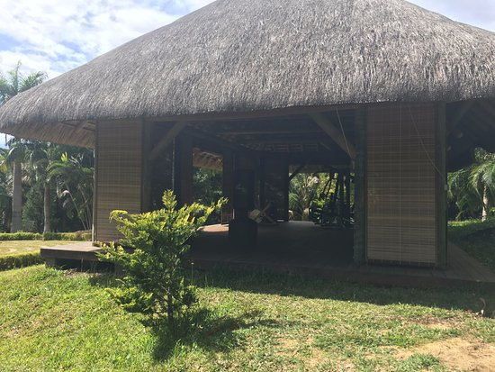 Lakaz Chamarel Exclusive Lodge: Lower fitness area