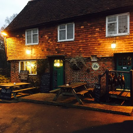 Entrance - Picture of The Rock, Chiddingstone Hoath - Tripadvisor