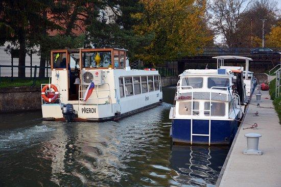 Baťák na lodi (Water Transport Straznice)