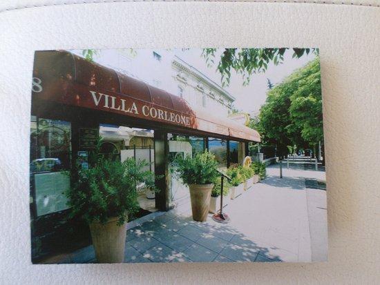 Restaurant La Villa Corleone Nice