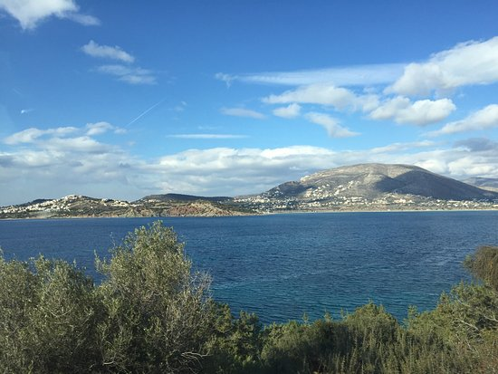 Lagonisi, Yunani: Trip along the coast to Capo Sounio Greece