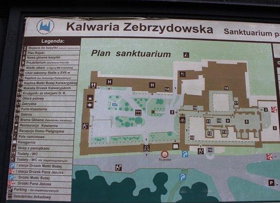 Kalwaria Zebrzydowska, Poland: cartina