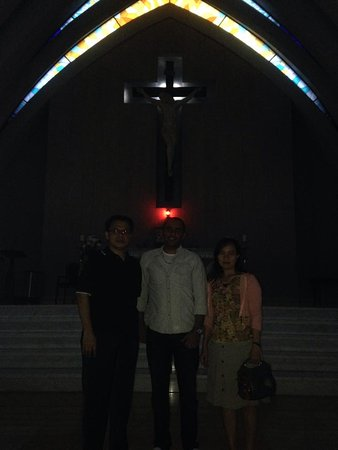 Clinton, MA: inside church in Indonesia