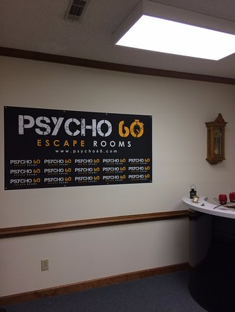 Psycho 60 Kernersville - Reception Area - Background