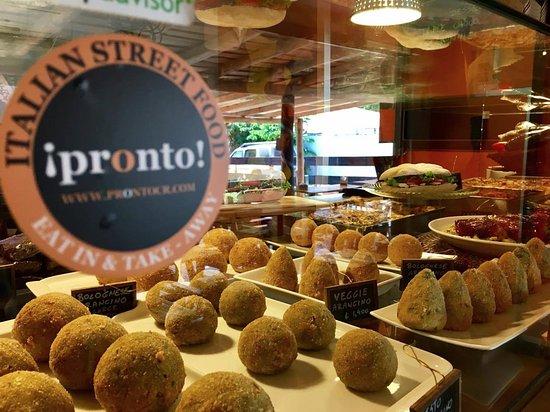 Pronto Italian Street Food: Arancini