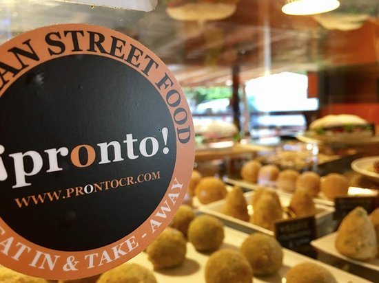 Pronto Italian Street Food: Our dishes are made every morning ready to eat or take away by 11 am