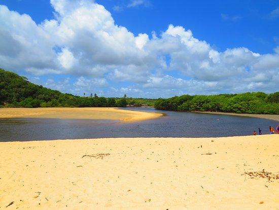 Praia Barra de Camaratuba