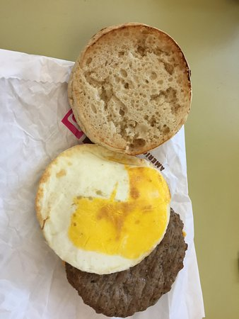 Wildwood, FL: sausage egg cheese