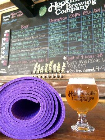 Hopkinsville, KY: Beer & Yoga