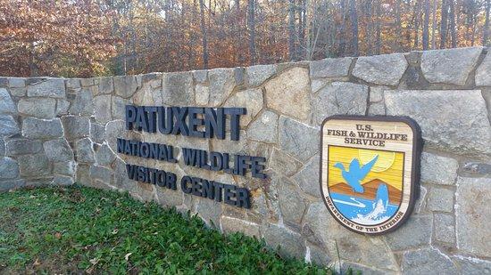 Laurel, MD: Refuge entrance