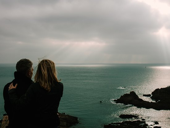 Come up for air with a walk along Jersey's north coast