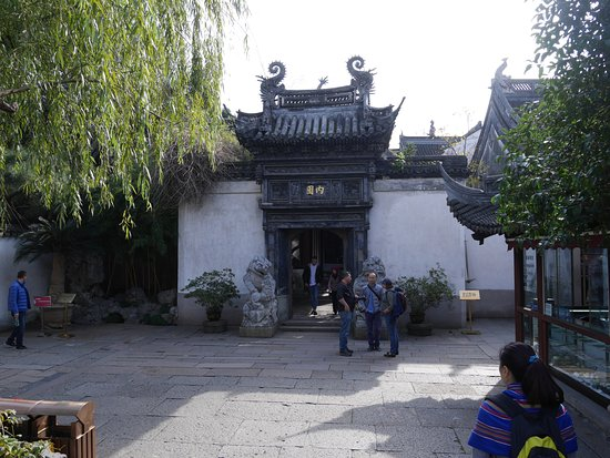 Shanghai Tour Facilitator - Harris Private Tour: in one of the gardens with Harris