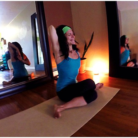 Frisco, CO: Yoga studio with owner Lisa Julian