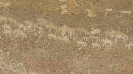Eritrea: le pitture rupestri bianche