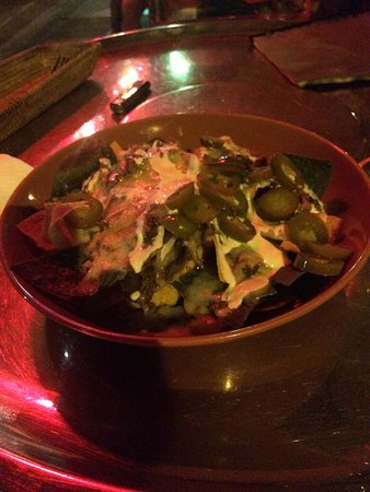 Chilli beef nachos