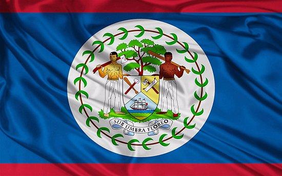 Serenade Hotel: Belize Flag