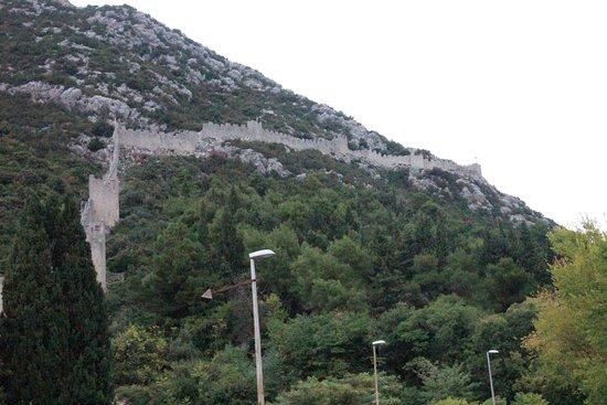 Ston, Croacia: Unglaublich lang