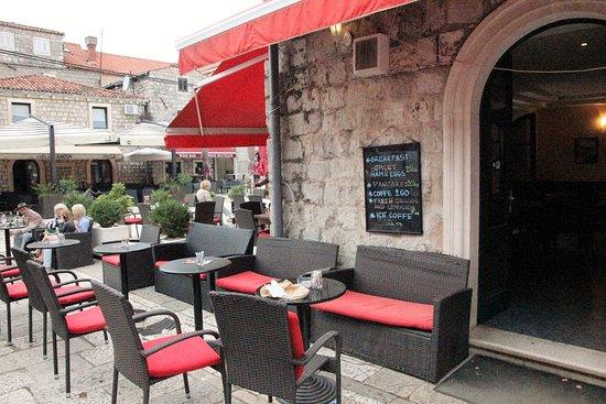 Ston, Croacia: Terrasse
