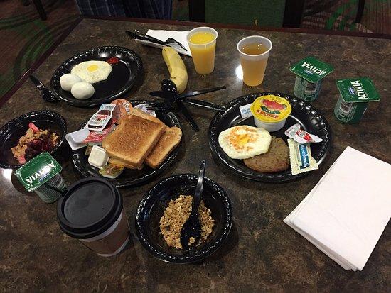 Seguin, TX: Desayuno