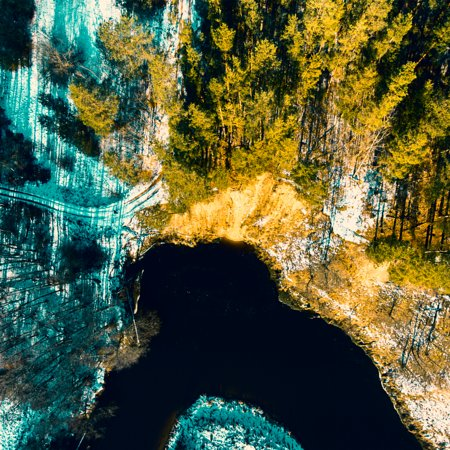 River Nevezis Lithuania