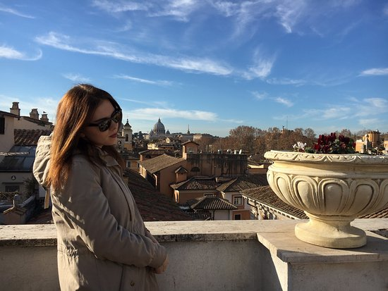 Genio Hotel: Вид с террасы