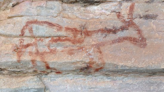 Salitre Grotto: pintura rupestre