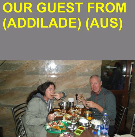 OUR GUEST FROM (AUS)