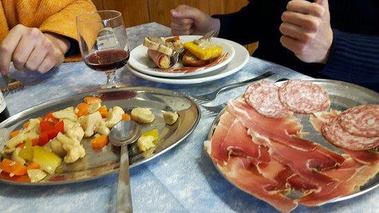 San Godenzo, Itália: Per befana....tutto davvero buono