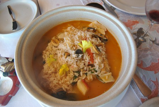Restaurante Tarmar: Le riz aux fruits de mer