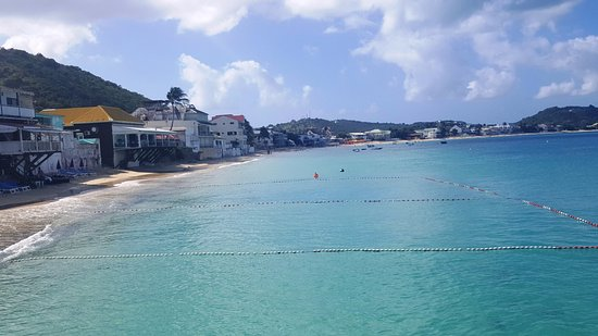 Grand Case, St-Martin/St Maarten : Beach