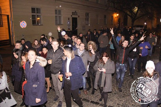 Prague Pub Crawl: Crawling in the streets of beautiful Prague!