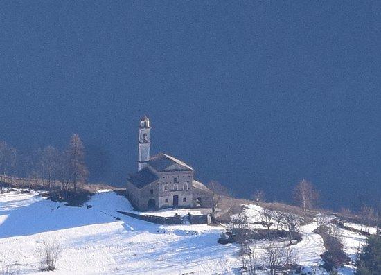 Elva, Italie : Santa Maria di Morinesio