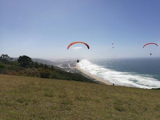 Wilderness, Sør-Afrika: Paragliding from the point is absolutely stunning. Had a great experience