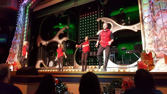 "Showboat Branson Belle: ""Rhythm"" - cloggers/tap dancers were so good!"