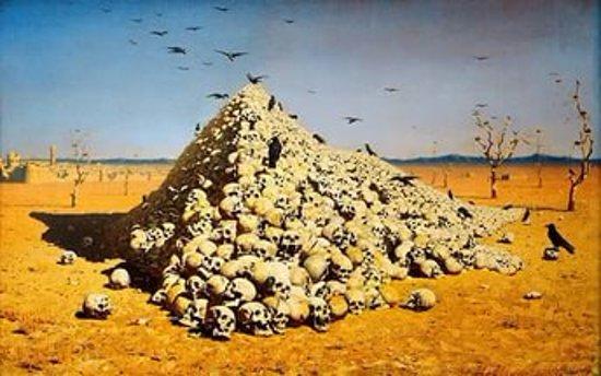 Третьяковская галерея на Крымском валу: Апофеоз войны