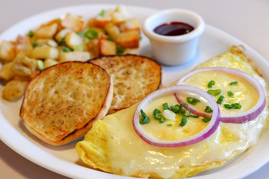 Lady O'Leary Omelette - Picture of Egg Harbor Cafe, Hinsdale ...